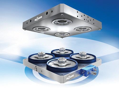Röhm - Power-Grip Nullpunktspannsystem